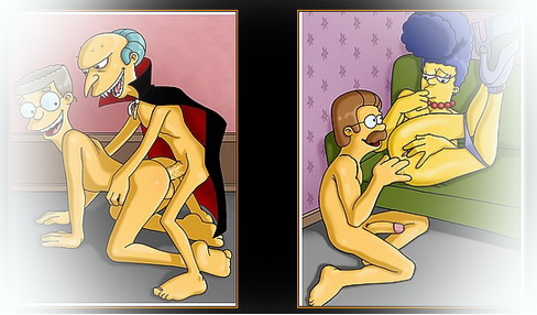 The Simpsons porn series - Adult Simpsons Toons Marge Simpson porn