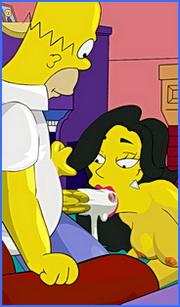 Simpsons porn toons drawn-hentai.com