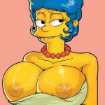 Fucking with busty Marge - Marge Simpson porn