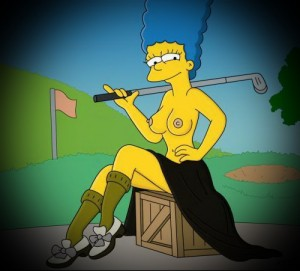 Simpson's porn story after sexy