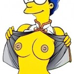 Simpson's porn story after sexy - Marge Simpson porn