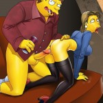 Simpsons porn holiday! - Adult Simpsons Toons