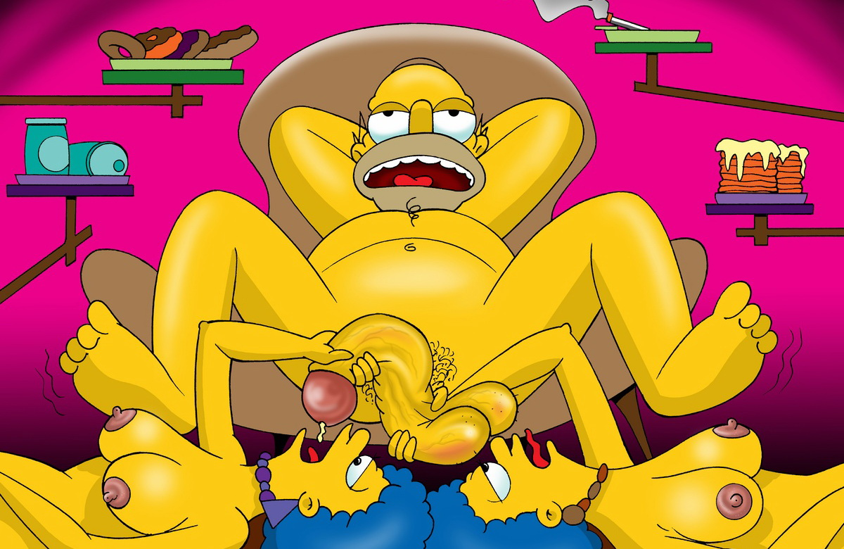 Words... twins on the simpsons nude serious?