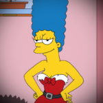 Simpsons porn at home - Marge Simpson porn